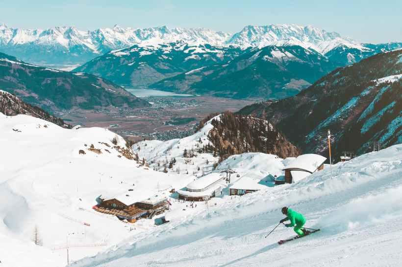 action adventure alpine buildings